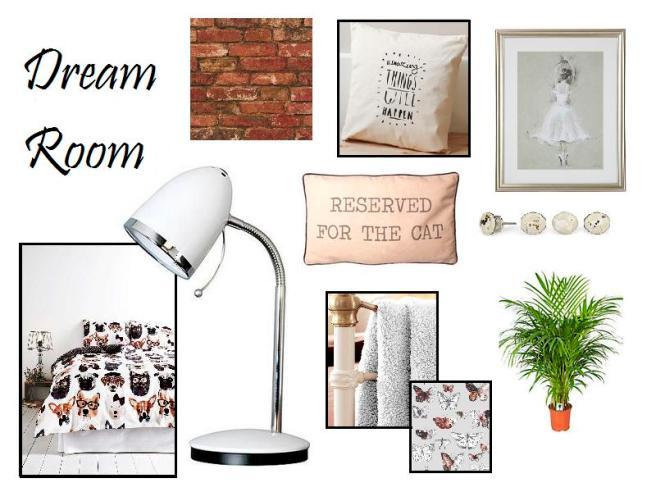 dream room collage