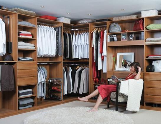 Sliderobes walk-in wardrobe