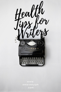 Health Tips for Writers